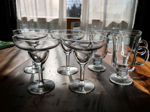 Coffee Glasses, wine glasses and more