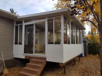 SUNROOMS, PATIO COVERS, BEST PRICE IN CENTRAL ALBERTA