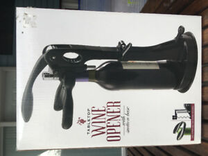 Cork Screw-Tabletop Wine Opener-Ouvre Bouteille