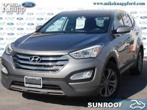 2013 Hyundai Santa Fe 2.4 Luxury  - Sunroof -  Leather Seats