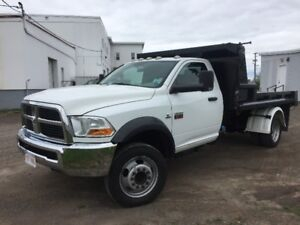2011 Dodge 5500, DIESEL, 4 x 4 ,PTO hydraulic 11' dump body