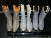 Cowboy boots - 3 Pairs - Size 9 - $100 for 3 pairs-Sold as set