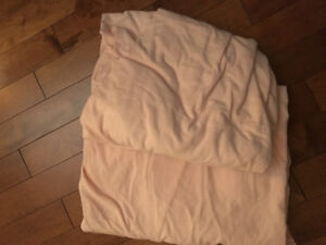Twin Flannel Sheets - Pink