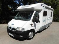 Lunar Champ H591 2005 4 Berth Rear Fixed Bed Motorhome For Sale