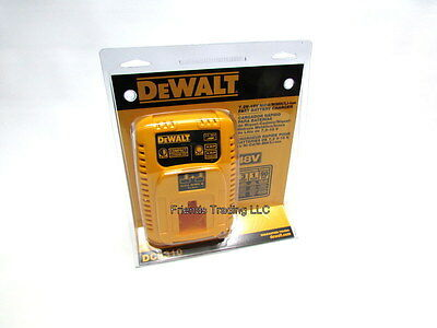DeWALT 7.2V 9.6V 12V 14.4V 18V 18 Volt NiCd & Lithium Ion Battery Charger DC9310