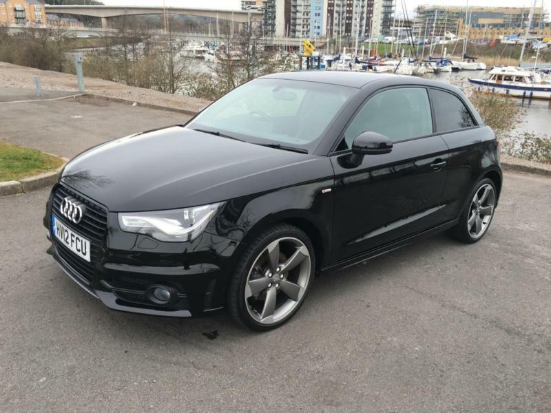 2012 audi a1 tfsi s line black edition hatchback petrol in penarth vale of glamorgan gumtree. Black Bedroom Furniture Sets. Home Design Ideas