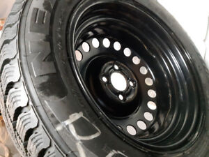 WINTER TYRE WITH RIM