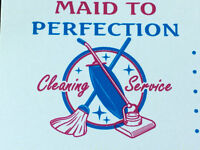 MAID TO PEFECTION CLEANING SERVICES!