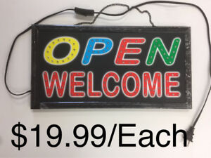 $19.99 Electric Display Led Open Sign