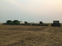 Swather and Combine Operators 2017 Harvest