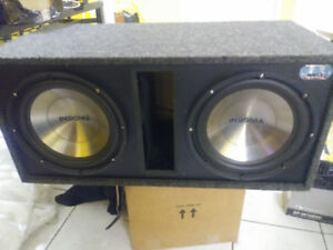 """12"""" SUBS (Insignia) in ported Box"""
