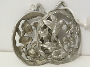 Pewter hummingbird  fragrance hanger London Ontario image 2