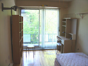 Bright, airy 1 1/2 furnished apartment