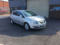 2008 58 VAUXHALL CORSA 1.2i 16v SXi 5 DOOR,ONLY 66000 MILES WARRANTED,GREAT