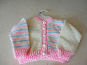 Brand New Baby Girl Knitted Top Kitchener / Waterloo Kitchener Area image 1
