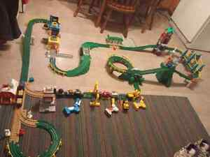 Fisher Price geotrax train sets