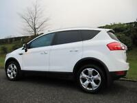 2010 FORD KUGA 2.0TDCi **4X4** TITANIUM **LEATHER**WHITE**
