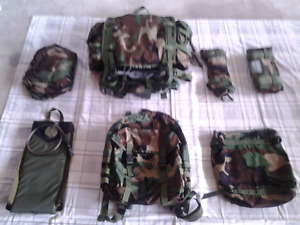 U.S. Military Modular Backpack (Woodland Camo) New/Old Stock