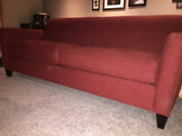 LIKE NEW CRATE AND BARREL COUCH