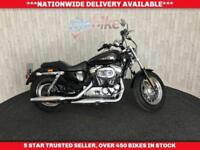 HARLEY-DAVIDSON SPORTSTER 1200 CUSTOM XL C ABS MOT TILL MAY 19 LOW MLS 2014 64
