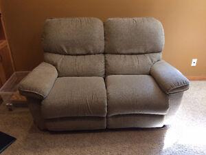 Lazboy love seat recliner