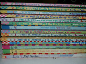 JUNIE B. JONES books for kids.