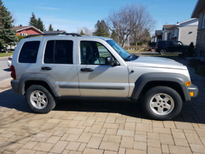 Jeep liberty 2006   143500 km