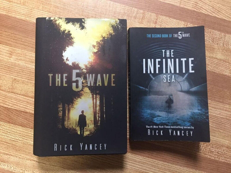 The 5th Wave Books 1 & 2 by Rick Yancey
