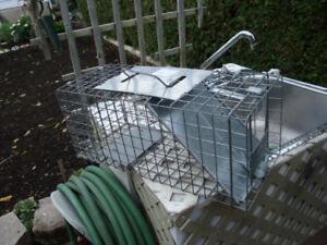 Cage (piège non mortel) pour attraper petis animaux sauvages