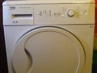 BEKO 8kg load condenser tumble dryer £150
