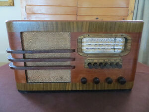 RADIO RCA VICTOR 1938  ANCIEN ANTIQUE
