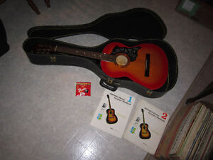 Classical Acoustic Guitar With Case & Extras!