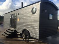30x10ft Bespoke Static Caravan / Glamping Unit