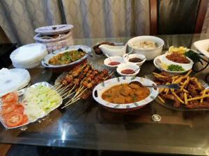 Pakistani food catering