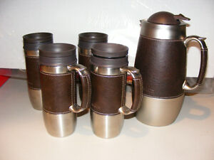 Thermal Pitcher & Travel Mugs