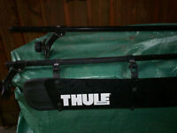 THULE ROOF RACKS WITH WIND DEFLECTOR