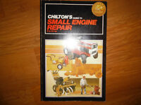 Chilton's 6-20 hp Tractor Riding Mowers Tillers Service Manual