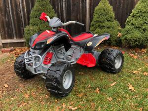 Power Wheels - 12V ATV Kawasaki KFX Ninja