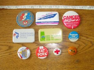 10 Assorted Collectible Buttons Lot # 3
