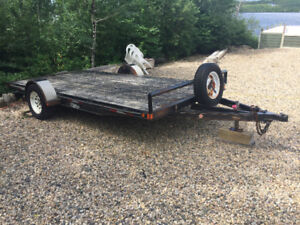 2007 Double A Trailers - 14ft x 6.5ft Utility Trailer