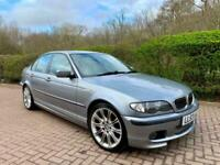 2003 BMW 3 Series 320i Sport Automatic Saloon Silver Grey Only 85,000 Miles E46