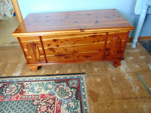 "Antique ""LANE"" Red Cedar Chest"