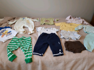 Lot of 6-9 month boys clothes 19 items