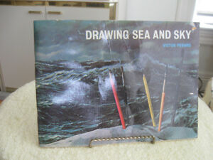 """HINTS for STUDENT ARTISTS..""""DRAWING SEA & SKY"""" [ V. PERARD]"""