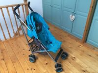 Bruin Hoppa pushchair blue
