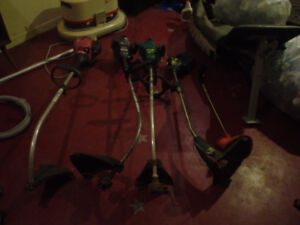 30 $ great deal 5 weed trimmers parts or repair