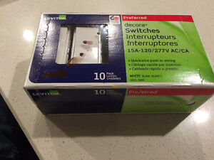 Decor switches box of 10