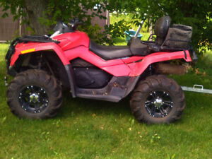 2007 can am outlander max xt 800cc