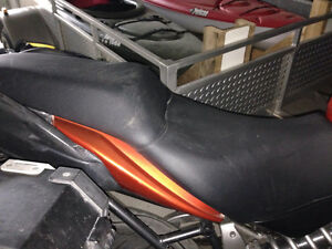 Versys 650 stock seat (first gen)