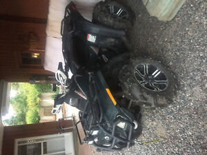 Selling 2007 can am outlander 650 xt
